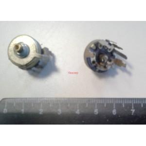 Тример потенциометър 50K 2% метален хоризонтален монтаж