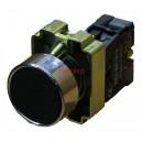 XB2-BA21 черен бутон без задържане