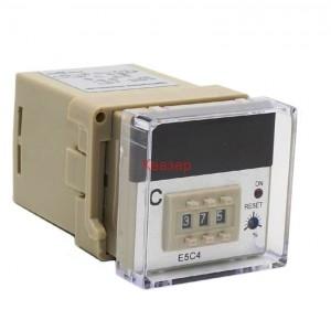 E5C4-J399-ONOFF- Температурен контролер + PF083A Цокъл