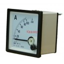 NP72 100/5A Амперметър 0-100A AC, аналогов панелен 70x70mm