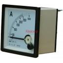 NP72 250/5A Амперметър 0-250A AC, аналогов панелен 70x70mm