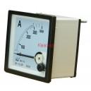 NP72 300/5A Амперметър 0-300A AC, аналогов панелен 70x70mm