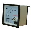 NP72 600/5A Амперметър 0-600A AC, аналогов панелен 70x70mm