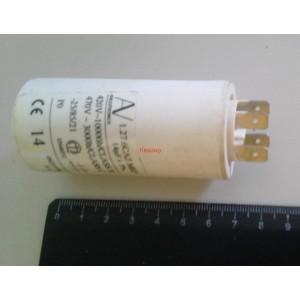2C 14uF 470V работен кондензатор тип MKP с изводни пера
