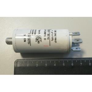2D 4uF 250V работен кондензатор тип MKP с изводни пера