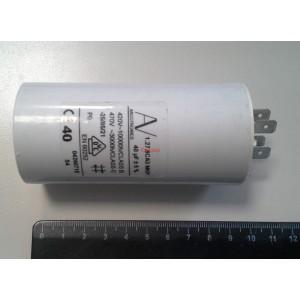 2C 40uF 470V работен кондензатор тип MKP с изводни пера