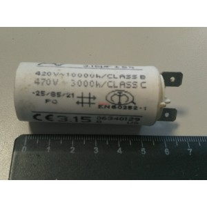 3C 3.15uF 470V работен кондензатор тип MKP с изводни пера
