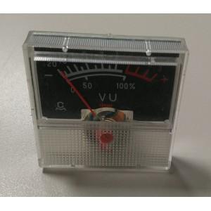VU метър аналогов 40x40mm