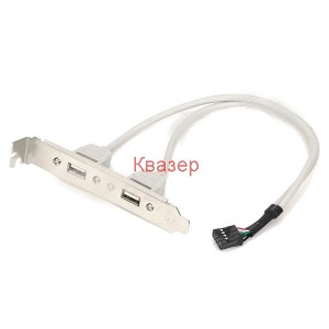 2-Port USB 2.0 Expansion Board Connection Cable
