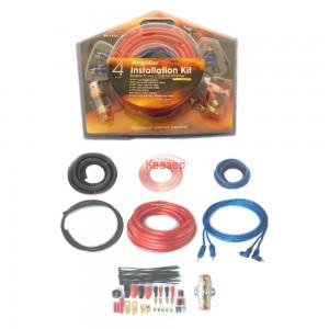 Комплект кабели за монтаж на автомобилен усилвател WIREMAN CAR SET 4