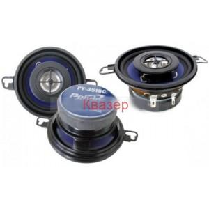 Авто Говорители 3.5 инча, 8 см, PY-3510C Двулентови, в комплект с кабели за монтаж, 2 бр, 4 Ohm, 30W