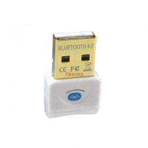 Bluetooth адаптер, V4.0, Бял
