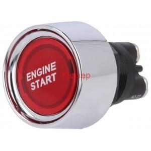 Старт бутон SPST-NO 50A/12VDC червен