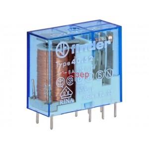 РЕЛЕ FINDER 40.52.9.024.0000 бобина 24VDC, DPDT