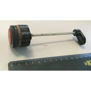 Бутон Mechanical Push Rod, ф24mm L100mm