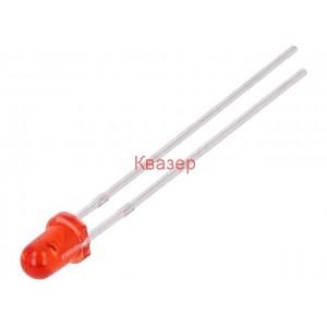 Светодиод FORYARD FYL-3014SRT1A LED 3mm червен 200mcd 30°