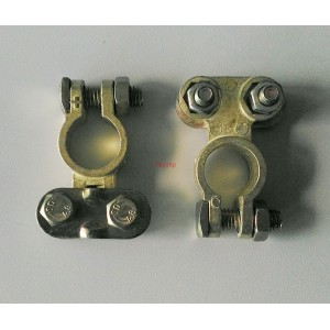 Акумулаторна клема комплект 2бр (+ и -)