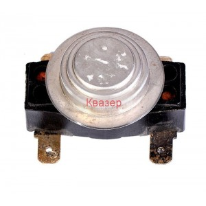 Термостат, биметален, двоен, ЕСПА01А002, 35/63°C, 2NО, 16A/250VAC