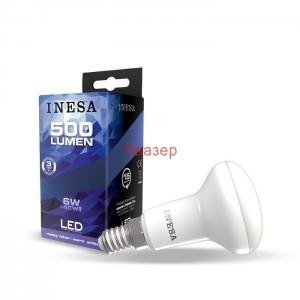 LED лампа R50 6W 500lm 3000K E14 105гр. INESA