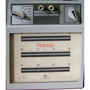Честотомер аналогов VL20 Metra Blansko, 45 - 120Hz