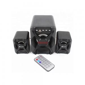 Тонколони Kisonli U-2500BT, Bluetooth, 5W+3W*2, USB