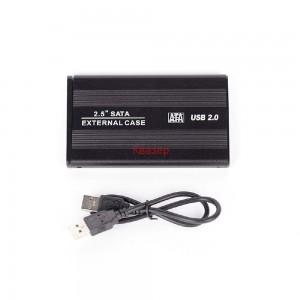 """Кутия за външен хард диск SATA 2.5"""" HDD, USB 2.0"""