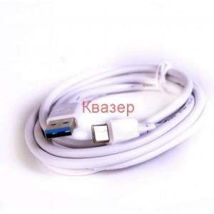 Кабел USB Type-C бял