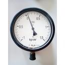 Манометър, вакуум-метър TGL от -1 до +1.5 kp/cm2, M20x1.5, ф160