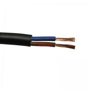 Гъвкав шлангов кабел с каучукова изолация и обвивка CGLG (ШКПЛ) 2x1.50кв.мм.