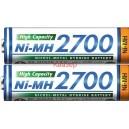 Акумулаторна батерия AA HR6 NiMH 2700mA PANASONIC ENELOOP HIGH CAP 2бр в бл