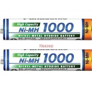 Акумулаторна батерия AAA HR03 NiMH 1000mA PANASONIC ENELOOP HIGH CAP 2бр в бл