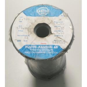 КАНТАЛ 0.100mm / оригинален шведски KANTHAL-D, R175.00ohm/m