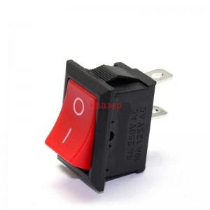 Ключ MRS-101(A)-2 ON-OFF 250V/6A червен