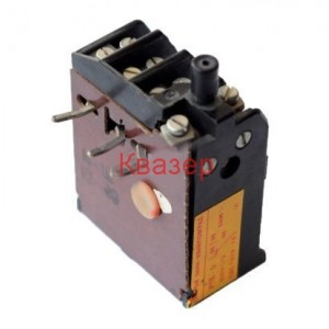 Термична защита РТБ-0/ 1-2А 380VAC за моторни пускатели