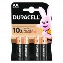 Алкална батерия AA LR6 DURACELL 4бр