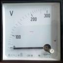 CDE96 300V Волтметър 0-300V AC, аналогов панелен 90x90мм
