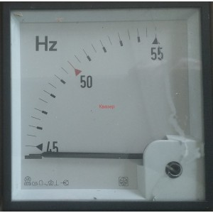 Честотомер 45 - 55 Hz, аналогов панелен 96x96mm
