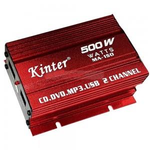 Усилвател за кола KD2100, 2x25 W, 4 Ohm
