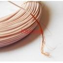 Тефлонов многожичен проводник МГТФ / MGTF 0.35 mm2 розов