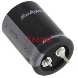 4700uF 50V 25x35mm 105°C Кондензатор електролитен SNAP-IN, Rubycon GY (M)