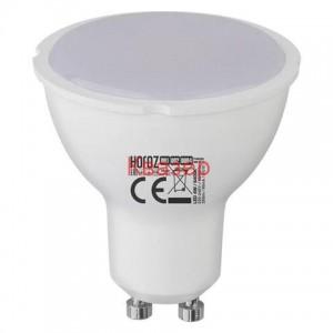 001-002-0004 Светодиодна лампа GU10 100-250V 4W SMD LED 6400K HOROZ