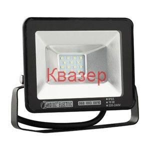 068-003-0010 Светодиоден прожектор SMD LED 10W 800Lm 2700K IP65 220V черен