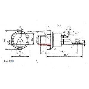 Бързодействащи мощни тиристори ТЧ-100-10 , 1000V, 100A